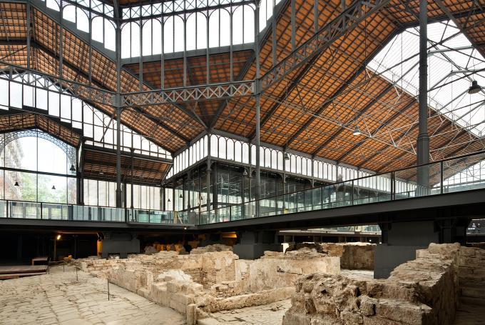 Taller 'Construïm el mercat del Born' en El Born Centre de Cultura i Memòria (Barcelona)