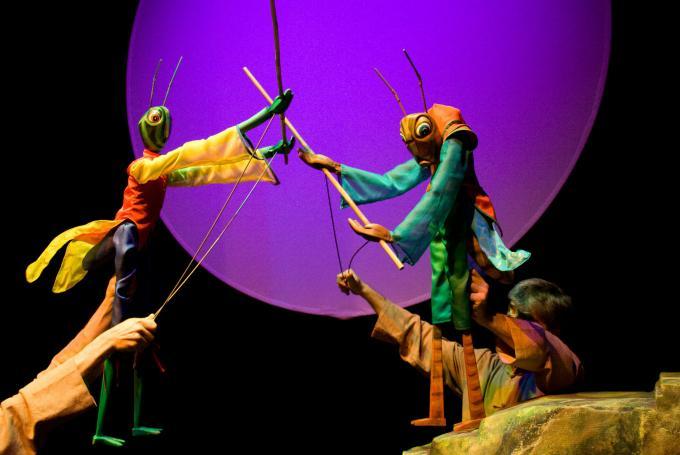 'La leyenda del grillo y la hormiga' en Teatro Alameda (Sevilla) (Sevilla)
