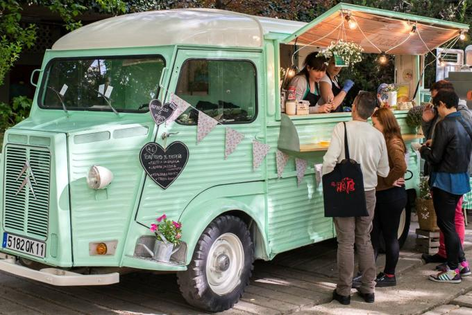 'Expo Food Trucks' en El Corte Inglés Castellana (Madrid)