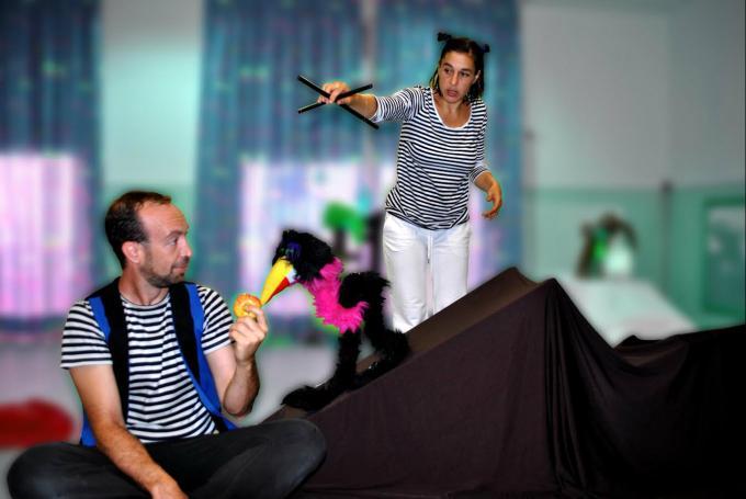 'Gugu… ¡Tras! Feliz despertar' en Sala de Teatro Bululú (Madrid)
