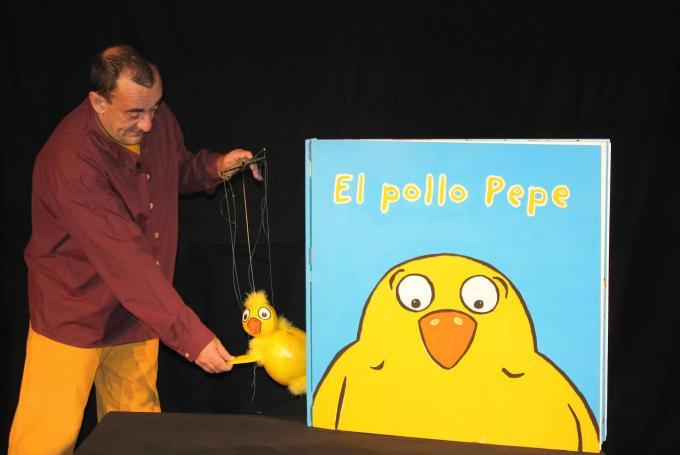 'El Pollo Pepe' en Sala de Teatro Bululú (Madrid)