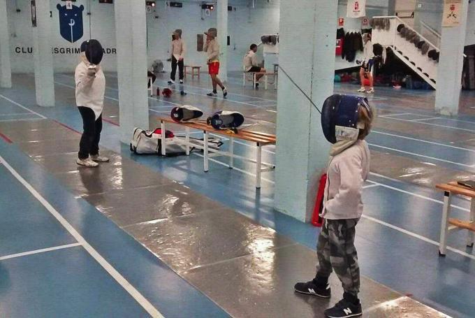 Campamento de esgrima en Semana Santa en Club de Esgrima de Madrid (Madrid)