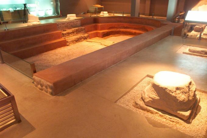 'Una mañana en las termas' en Museo de las Termas Públicas de Caesaraugusta (Zaragoza)